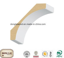 건축재료 중국 공장 공급 고품질 경쟁가격 판매를 위한 주문 방수 MDF 크라운 조형