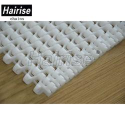 Белый цвет Hairise пластиковой ленты конвейера для выращивания овощей производственной линии