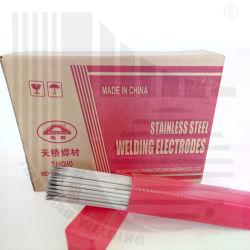 Cal Tiania de alta calidad de electrodos de soldadura de acero inoxidable