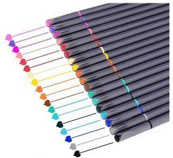 Aquarela promocionais escovar a cor da caneta de feltro