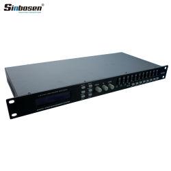 Procesador digital profesional de 4 entradas de audio de salida de 8 DP 448 Procesador de gestión de los altavoces de audio