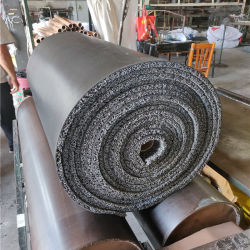 PVC петли ворса коврик с горячеканальной системы резервного копирования с резиновым покрытием скольжения