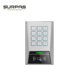 Mk1-Eh-Bt Lector de tarjetas de control de acceso Bluetooth código pin metálico Controlador de teclado numérico apoyo 125kHz 13.56MHz Card Reader