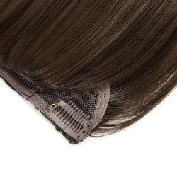 人間の毛バージンの毛再生の毛 4#6#Color 18 インチ Hair Extension をクリップで留めます
