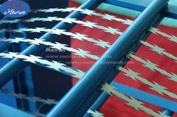 تصميم جديد رازور التلقائي شائكة مجلفنة الأسلاك المعدنية آلة النسيج