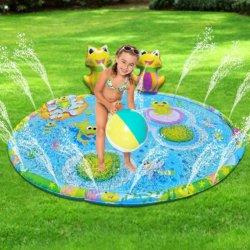 Tampon de Lecture de l'eau jouets arroseurs de grenouille gonflable Splash Mat pour les enfants Les enfants