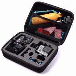 Оптовая торговля черным водонепроницаемый портативный путевых расходов при осуществлении Противоударная камера EVA для Gopro для принадлежностей