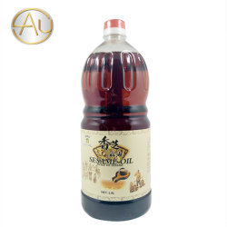 El aceite de cocina comestible Fabricante de 1,8 l de aceite de semillas de sésamo puro
