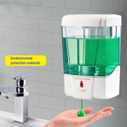 Dispensador de sabão líquido automática do sensor de infravermelho Dispensador de sabão 600ml/700ml Cozinha Touch-Free Parede Loção de sabão de banho cozinha da Bomba