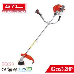 Garden Agricultural 62 cc 2 Stroke Gasoline / Petrol grass Brush أداة قص مع مقبض على شكل U (BC620)