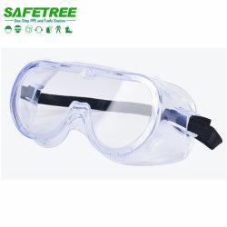 ANSI Z87.1 van de Bescherming van de Ogen van China de Industriële Medische Beschermende brillen van de Veiligheid van de Anti van de Kras van Ce En166 Mist van de Lens Anti Duidelijke