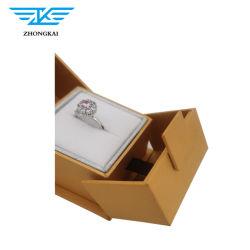 Luxury logotipo impresso em papel especial caso jóias do Anel