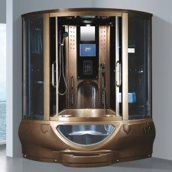 Baignoire Douche fermée Steamshower bain de vapeur avec baignoire/ Dampfbad bain de vapeur/ bain de vapeur de l'armoire salle de douche