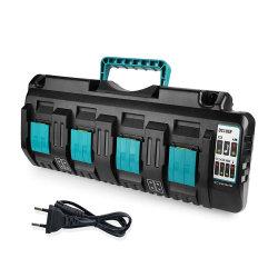 교체용 14.4V 18V 리튬 이온 4포트 3A 충전 전류 전원 도구 Makita DC18sf Bl1430 Bl1830 범용 충전기용 배터리 충전기