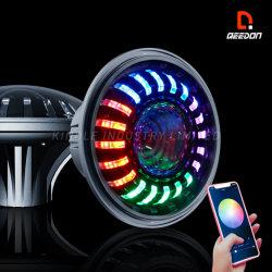 """7つの""""ヘッドライトECEジープのオフロード追跡ライトのための公認車ライト耐震補強のヘッドライトLEDの手段の照明"""