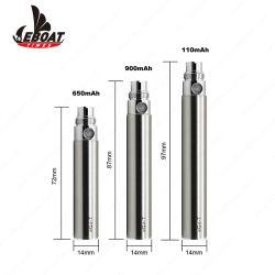 Amazon Hot Sale 510 Vape plume de l'huile de la CDB CE4 EGO T Batterie