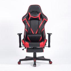 Escritório moderno gamer de PC do computador barato cadeira jogos couro PU ajustável