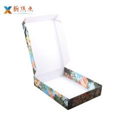 Formato personalizzato casella impaccante ondulato di carta variopinto per trasporto del pattino