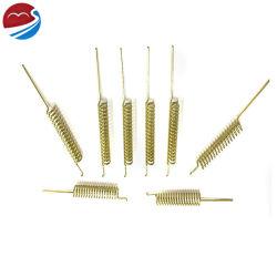 Fabricante de la bobina de cable de cobre berilio de latón de la antena de compresión de primavera para las comunicaciones electrónicas