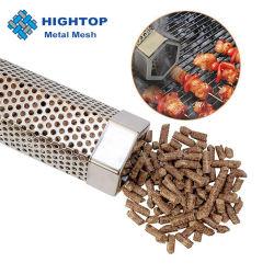 Edelstahl-kalter Rauch-Generator-Handmetall-BBQ-Maschendraht-Korb des Nahrungsmittelgrad-304