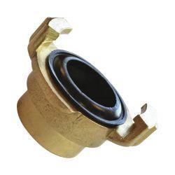 Brass Geka Alemanha a Conexão do Tubo União Hexagonal do Bujão do mamilo tampas de Cotovelo T igual House Acoplar o conector rápido