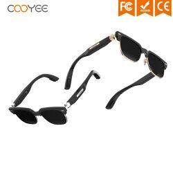 سماعات رأس لاسلكية CE/FCC IP67 Bone conduction TR90 Bluetooth® Smart نظارات شمسية