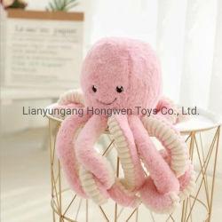 Hot Sale Mascot moelleux de Mignon Soft Octopus un jouet en peluche des animaux en peluche pour les enfants