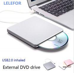 외부 USB 외부 흡입형 CD 레코더 DVD 플레이어 외부 모바일 CD-ROM 드라이브 컴퓨터 올인원