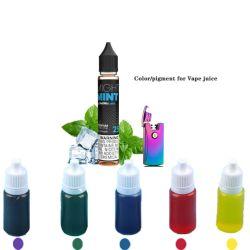 시샤 레드 옐로우 액상 E-Liquid Vape 주스 색소 파란색 꼭두색 녹색