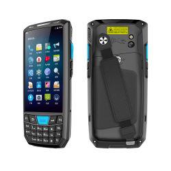 1개의 D 제 2 Barcode 스캐너를 가진 산업 인조 인간 8.1 4G Lte GPS 자료 수집 장치를 위한 Pdas 어려운 PDA