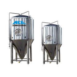 El equipo de la fermentación de la ace cónico de alta capacidad de 100L a 20000L cuba de fermentación de la cerveza Cerveza fermentador con camisa de refrigeración