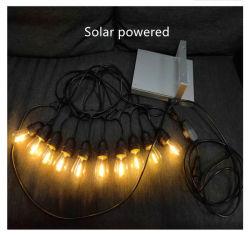 태양광 실외용 IP65 LED 전구 상업용 거리 소켓 양호 품질 E27 ~ B22 램프 홀더 스트링 라이트
