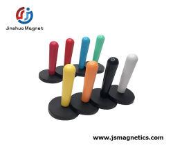 Forte de pranchas do magneto revestido de borracha Pot com magneto de neodímio de puxador de lidar com íman para venda
