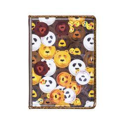 子供のためのPVCアートペーパーカバーが付いているパンダデザインハードカバーのノート