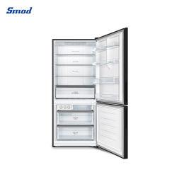 منصة العمق ثلم ستلس ستيل ثلاجة ذات باب مزدوج أسفل الثلاجة