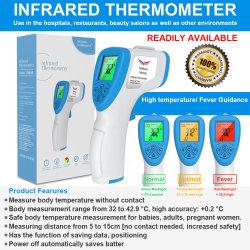Termometro elettronico di Infrared della fronte del bambino di Digitahi del corpo di alta precisione medica senza contatto all'ingrosso di IR migliore