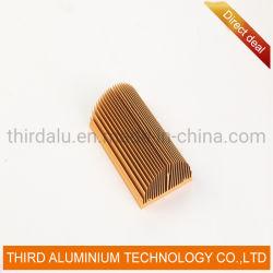 Vent de fluorocarbure mur rideau en aluminium revêtu de rails de profil d'Extrusion pour les prix d'usine de partition