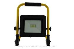 30W recarregável portátil LED sem fio da luz de trabalho o holofote IP65 de emergência à prova de luz de inundação com suporte suporte dobrável