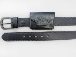 O Estilo Antigo Couro Cintura com padrão em relevo