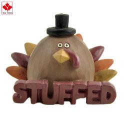 Artesanías en resina de promoción de la acción de gracias Turquía Home decoración vacaciones