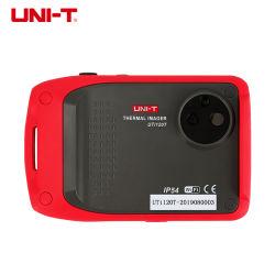 Uni-T 유틸리티 120T 대형 미니 크기 WiFi 적외선 열화상 카메라 3.5'' LCD 터치 디스플레이 및 120x90 픽셀 해상도 열화상 장비(포함) 8x 디지털 줌