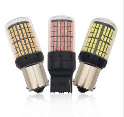 1156 ba15s 7440 7443 1157 Bay15D Sokcet чип 3014 светодиодная лампа 144 SMD мигает индикатор тормозной системы автомобиля DC 12V Авто лампы света заднего хода
