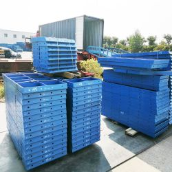 China Hersteller Customized Einstellbare modulare Stahlschalung für Wand / Slab / Säule Bau
