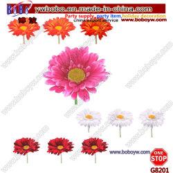 Decoración de jardín de flores artificiales flores de seda mejor boda flor (G8201)