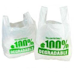 حقيبة تعبئة قميص قابلة للتحلل البيولوجي مادة الكورنستش/الببات