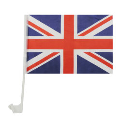 Publicidad barata personalizada impresión de la fábrica de bandera La bandera de coche de la pantalla de poliéster