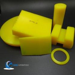 Amarelo escuro a folha de poliuretano PU exemplar para a bucha e o bloco do motor