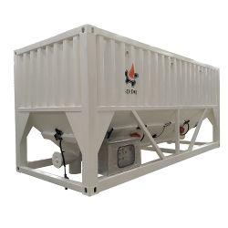 Tanque de almacenamiento y depósito de cemento a granel Silos Horizontales de construcción utilizados para la venta