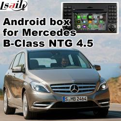 Система навигации GPS для Android видео интерфейс для транспортирования B Class Ntg 4,5 команды аудио20