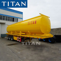 3 serbatoio del acciaio al carbonio dell'asse 30000L/40000L/50000L/acciaio inossidabile/lega di alluminio/di autocisterna camion rimorchio semi per trasporto dell'olio carburante/diesel/benzina/grezzo/acqua/latte